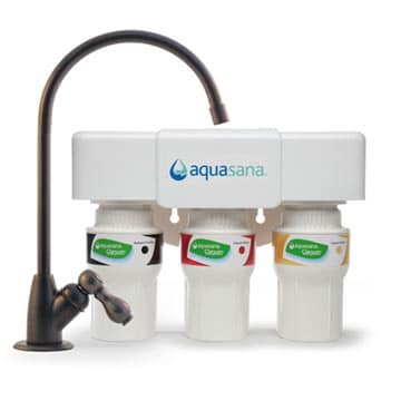 3-Stage Under Counter Water Filter