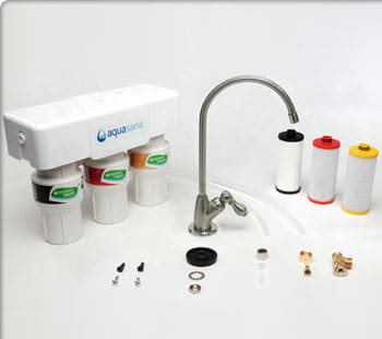 Aquasana 3 stage under counter water filter parts